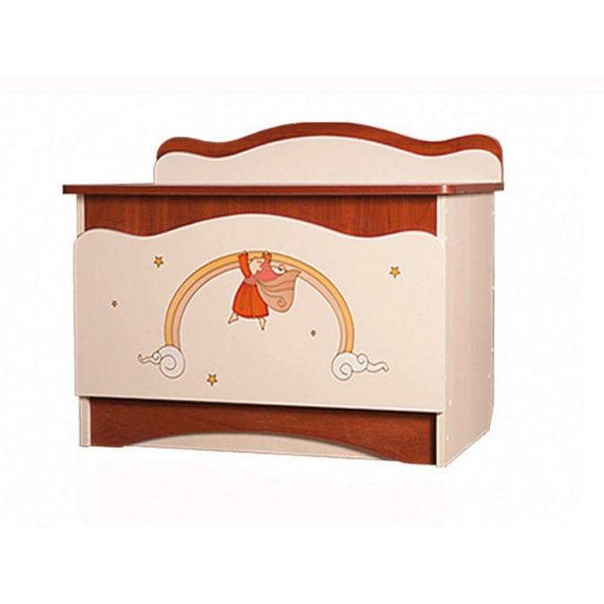 Ящик для игрушек Феи в облаках Крем + яблоня шоколад Вальтер