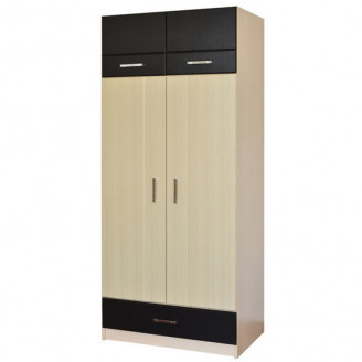 Шкаф 2х дверный 1-но секционный Макс Летро