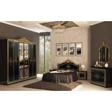 Спальня Дженнифер 6Д черный глянец MiroMark