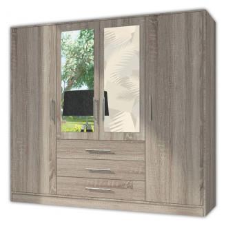 Шкаф гардеробный Luxe Studio Carrie D4