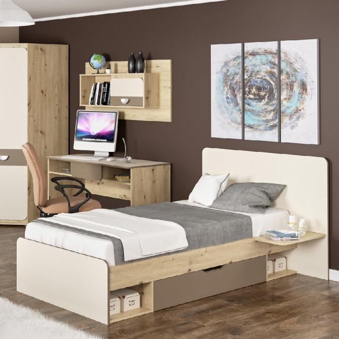 Кровать 90*200 Лами Мебель-Сервис