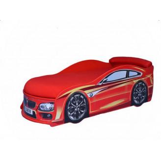 Кровать машина с матрасом BMW MebelKon
