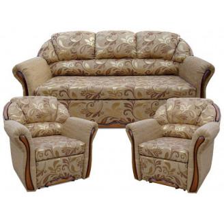 Комплект Бостон 311 с раскладными креслами Вика