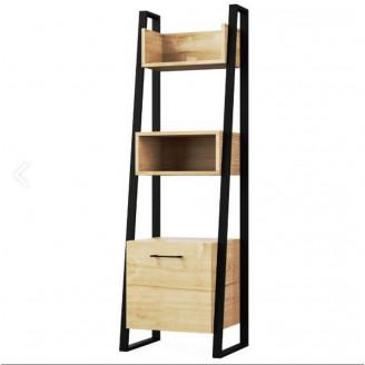 Полка Мир Мебели Лофт этажерка