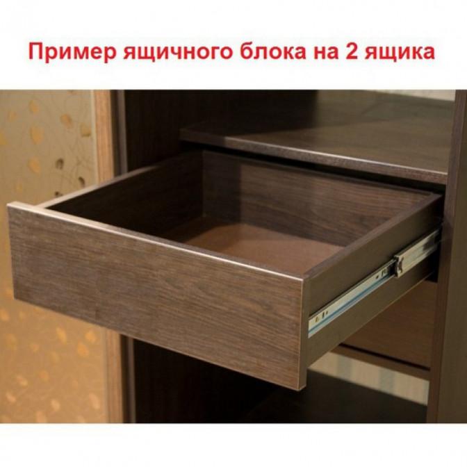 Шкаф-купе Стандарт Четырехдверный ДСП  +  Зеркало  +  Зеркало  +  ДСП NikaМебель