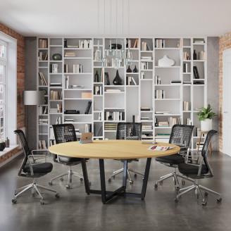 Стол Loft design для переговоров D-2000