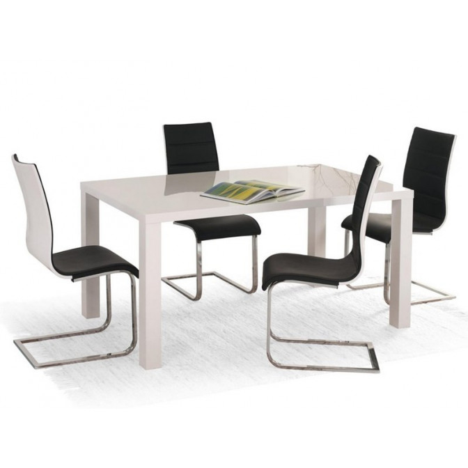 Стол Ronald 140-180*80 белый Halmar