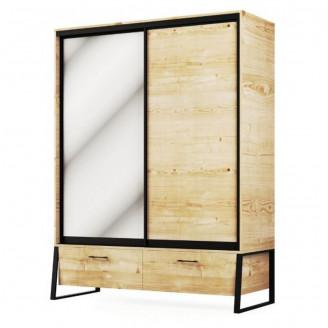 Шкаф Мир Мебели Лофт 2Д2Ш