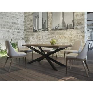Стол обеденый X Металл-дизайн