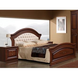 Кровать с мягкой спинкой Венера Слониммебель