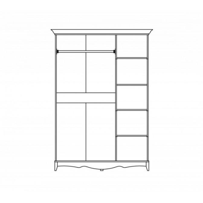 Шкаф Селина 3Д Мир Мебели