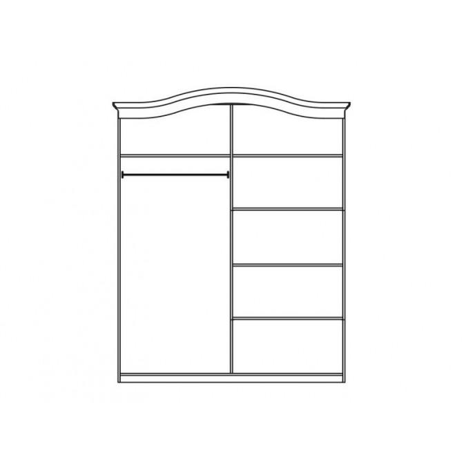 Шкаф 4Д Николь Мир Мебели