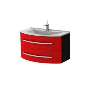 Тумба Vanessa Vn-90 красная Ювента