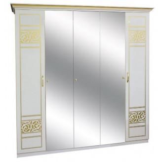Шкаф Мир Мебели Полина новая 5ДЗ (3 зеркала)