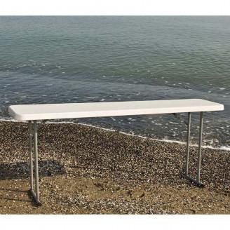Складной стол PLTBY - 18301 Белый Onder Mebli