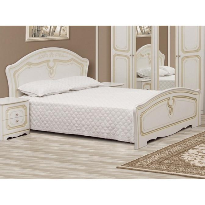 Кровать Луиза 160*200 патина Мир Мебели