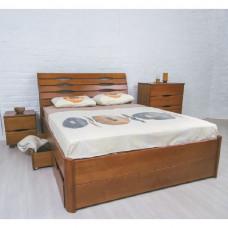 Кровать Марита LUX с ящиками Олимп