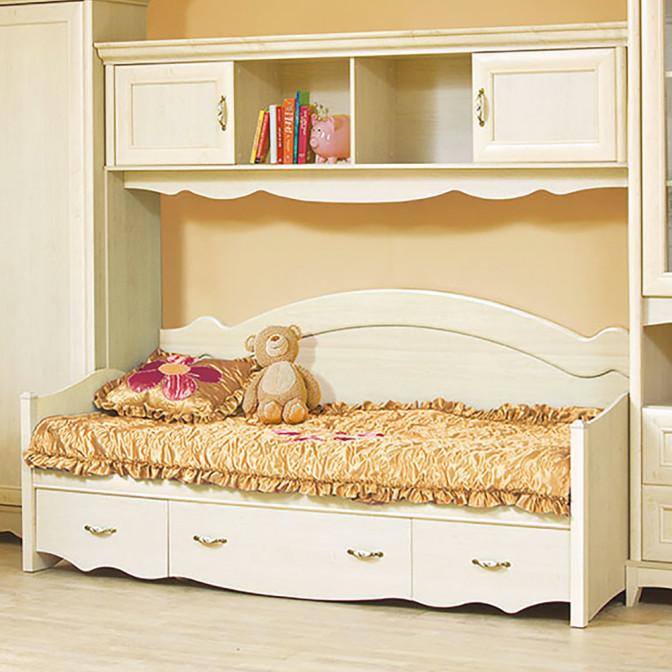 Кровать 1СПШ Селина Мир Мебели
