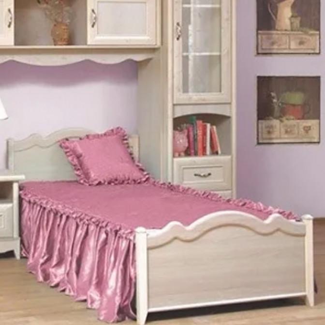 Кровать 1СП Селина 90*200 Мир Мебели