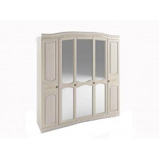 Шкаф 5-ти дверный Венера люкс Сокме
