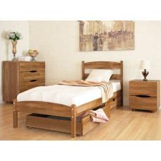 Кровать Лика без изножья с ящиками Олимп