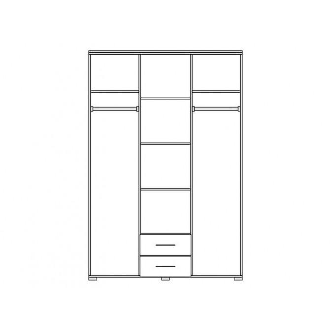 Шкаф Круиз 3Д Мир Мебели