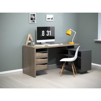 Компьютерный стол Intarsio Connect 3