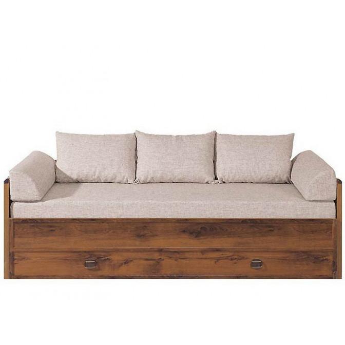 Кровать Индиана с матрасом и подушкой 80/160 BRW Україна