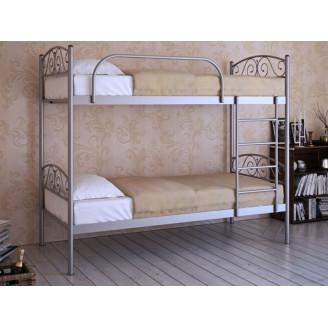 Двухъярусная металлическая кровать Верона Дуо Метакам