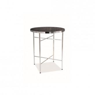 Журнальный стол Signal Ibiza C мрамор/хром У-1