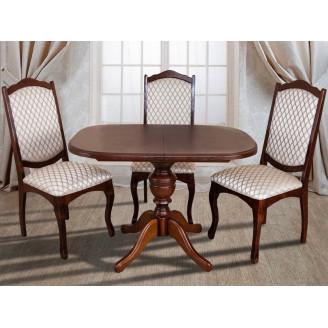Стол раскладной Триумф 105  + 40*75 Микс Мебель