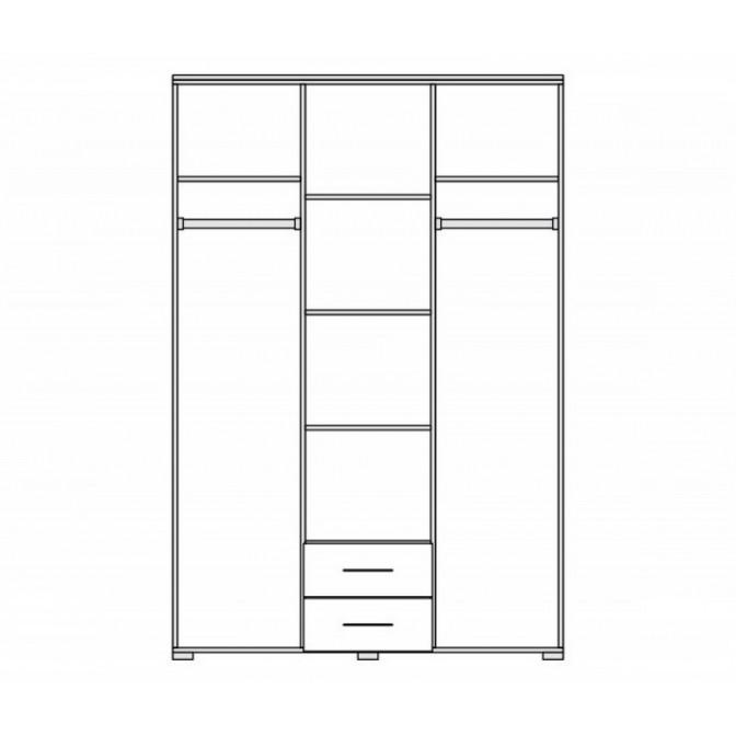Шкаф Элегия 3Д Мир Мебели