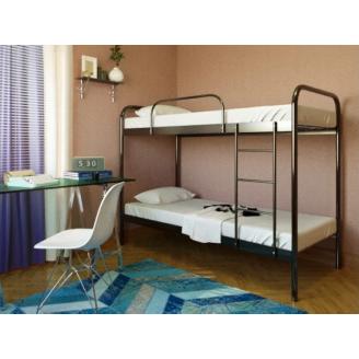 Двухъярусная металлическая кровать Релакс Дуо Метакам