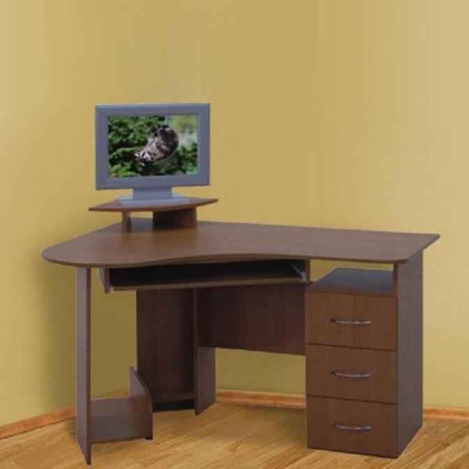 Компьютерный стол Универсал 1,25 ДСП Просто Мебли