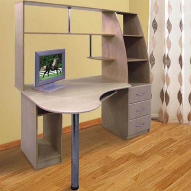 Компьютерный стол Комфорт МДФ Просто Мебли