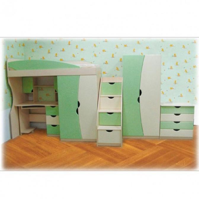 Кровать Арлекино с ящиками 80*190 Просто Мебли