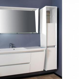 Пенал для ванной Peggy Белый Fancy Marble