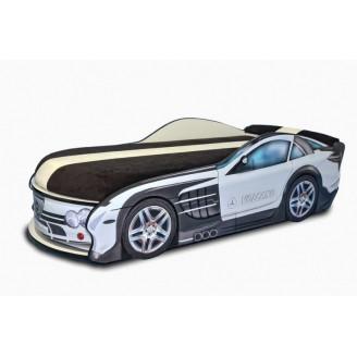 Кровать-машинка с матрасом Mercedes MebelKon