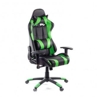 Кресло Хорнет зеленая экокожа АКлас