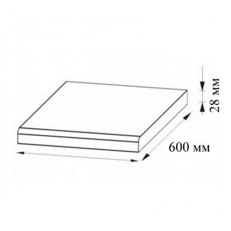 Столешница цельная Мир Мебели 28 мм 1,2м