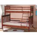Двухъярусная кровать Скандинавия с ящиками 90140*200 Микс Мебель
