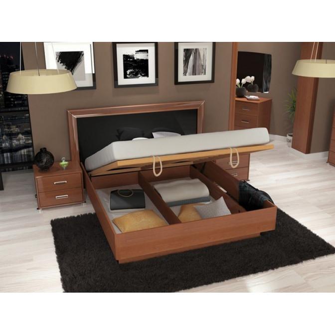 Кровать Белла Мягкая с механизмом MiroMark
