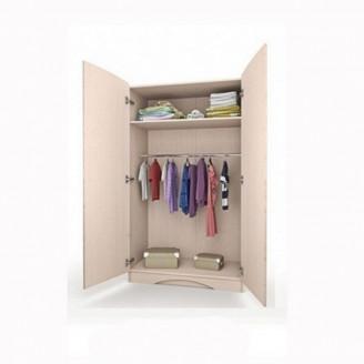 Шкаф платяной М + Д с ящиком-100 Вальтер