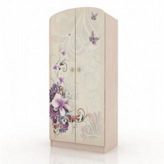 Шкаф платяной Бабочки-80 Вальтер