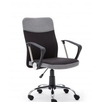 Офисное кресло Topic Черный + пепельный Halmar
