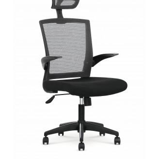Офисное кресло Valor Пепельный + черный Halmar