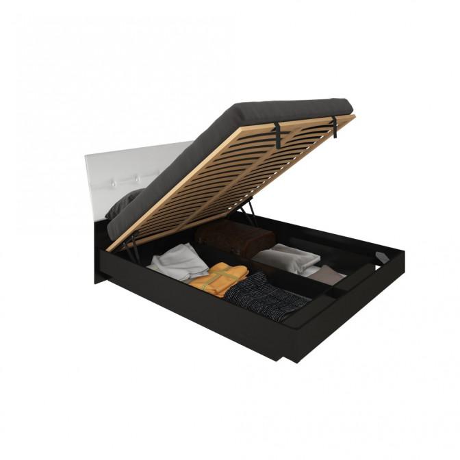 Кровать Виола Мягкая спинка с механизмом MiroMark
