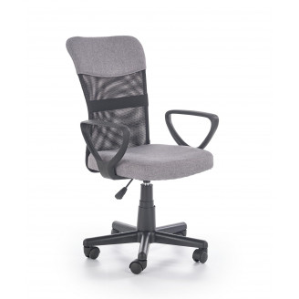 Офисное кресло Timmy Черный + пепельный Halmar