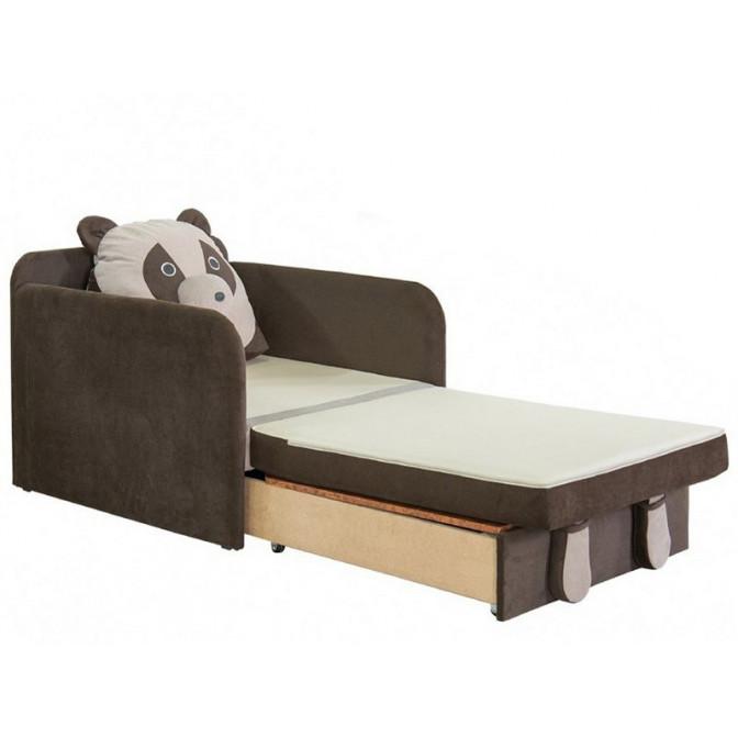 Детский раскладной диван Юниор Панда Выкатной Мебель-Сервис