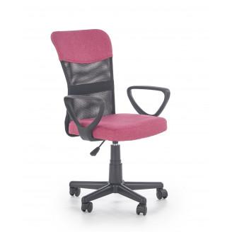 Офисное кресло Timmy Черный + розовый Halmar
